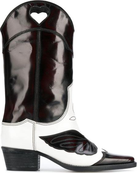 Ganni Slip-on cowboy boots