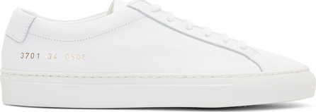Woman by Common Projects White Original Achilles Low Sneakers