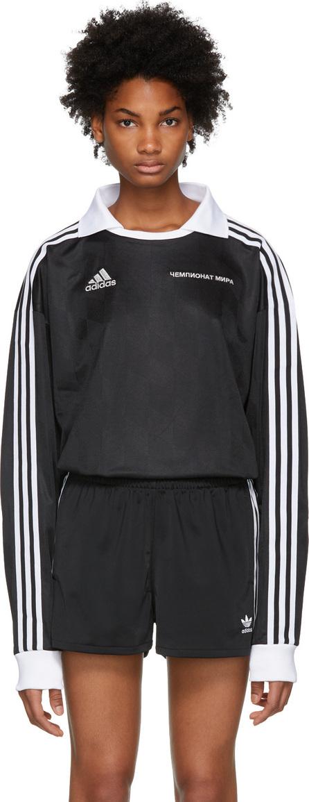 Gosha Rubchinskiy Black adidas Originals Edition Football Jersey Polo