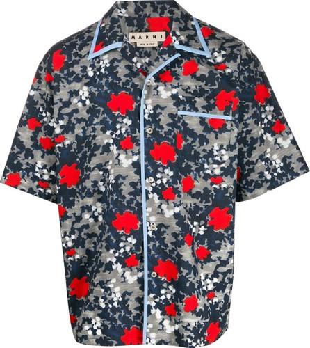 Marni Camouflage floral shirt