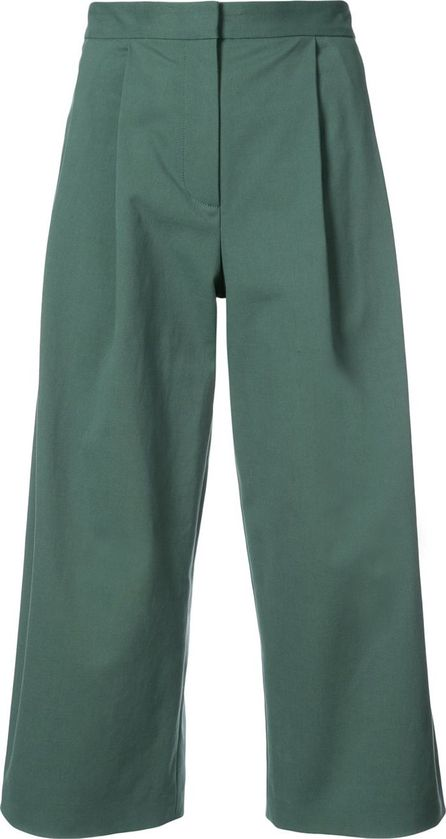 Adam Lippes cropped palazzo trousers