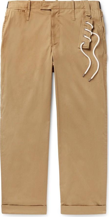 Craig Green Wide-Leg Cotton-Blend Twill Trousers