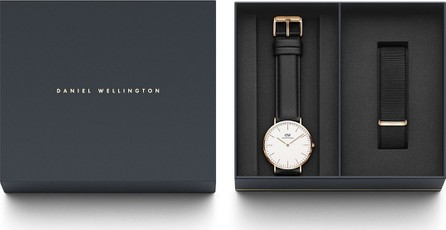 Daniel Wellington 40mm Classic Sheffield Watch Gift Set