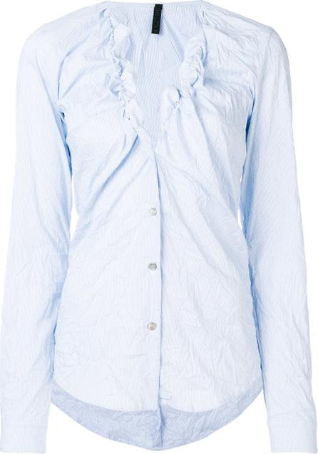 Ben Taverniti Unravel Project Frill V-neck shirt