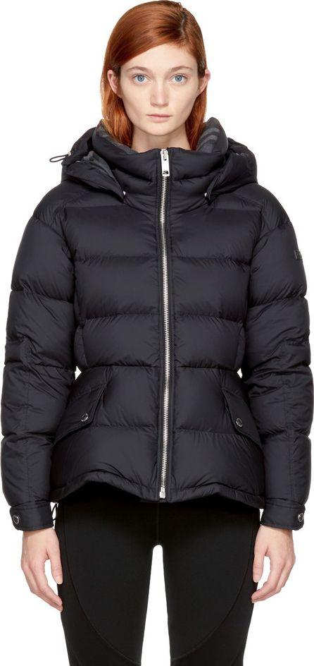 Burberry London England Black Down Fleetwood Puffer Jacket