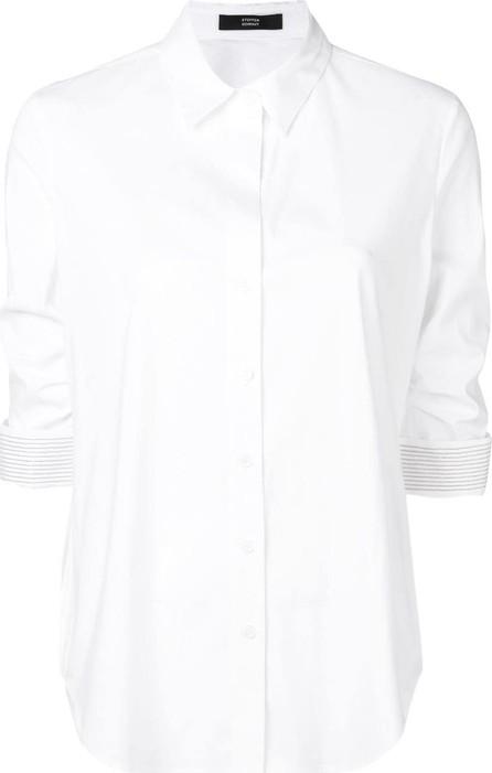 Steffen Schraut Ruched sleeves shirt
