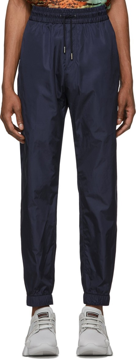 Givenchy Navy Satin Jogger Lounge Pants