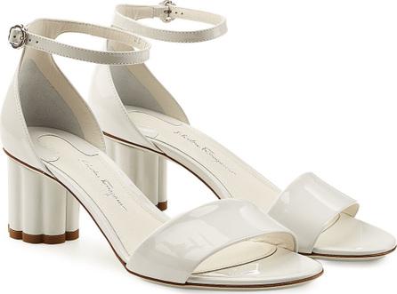 Salvatore Ferragamo Eraclea Patent Leather Sandals