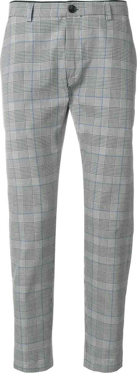Department 5 Plaid straight leg trousers