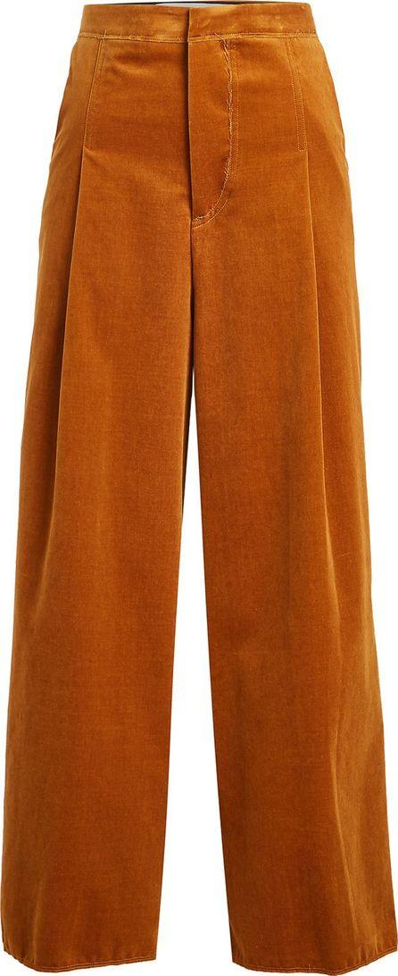 Golden Goose Deluxe Brand Wide Leg Velvet Pants