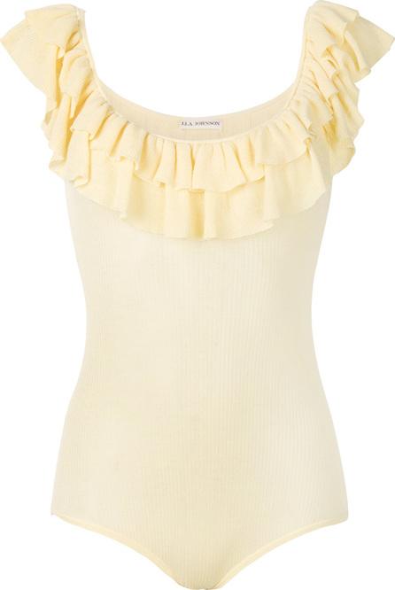 Ulla Johnson Ruffled neck T-shirt