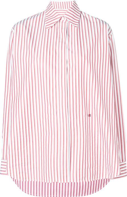 Victoria Beckham Striped masculine shirt