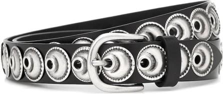 Isabel Marant Zappi studded leather belt