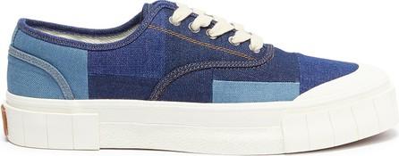 Good News London Slider' low top denim sneakers