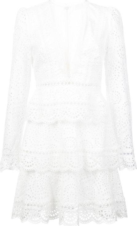 Zimmermann Longsleeved tiered dress
