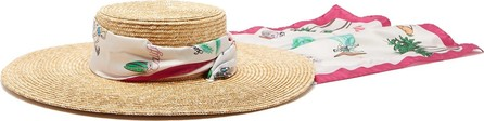 Filù Hats Venezia wide-brim straw hat