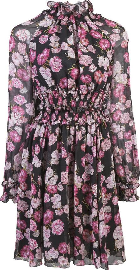 Giambattista Valli Floral long-sleeve shirt dress