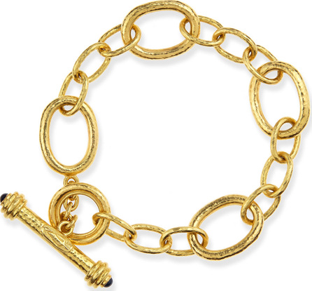 Elizabeth Locke Garda 19k Gold Toggle Bracelet