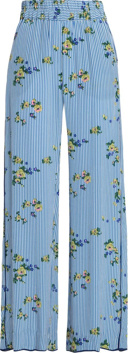 Baum und Pferdgarten Printed woven wide-leg pants