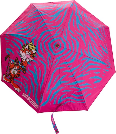 Moschino animal print umbrella