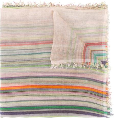 Faliero Sarti line print scarf