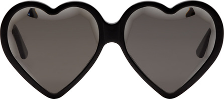 Gucci Black Heart Sunglasses
