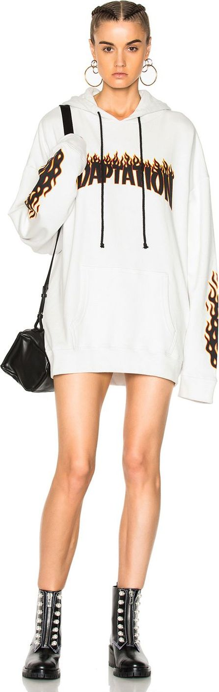Adaptation Flame Hoodie Dress