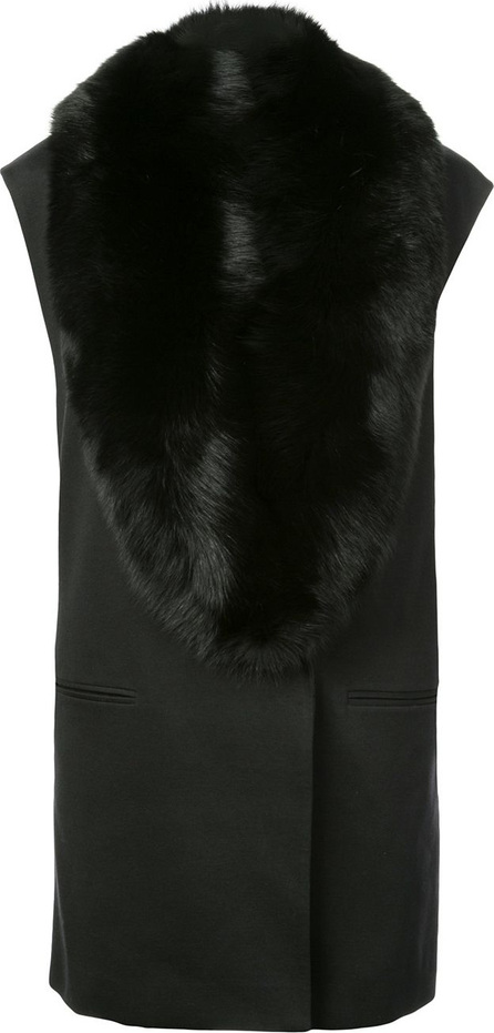 Thomas Wylde Miss Chow fur collared vest