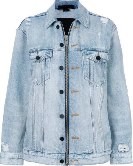 Alexander Wang Daze zip denim jacket