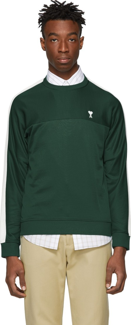 AMI Green Technical Sweatshirt