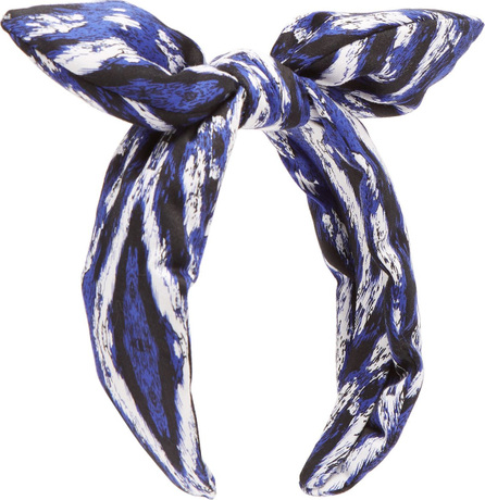 House of Lafayette Printed silk headband