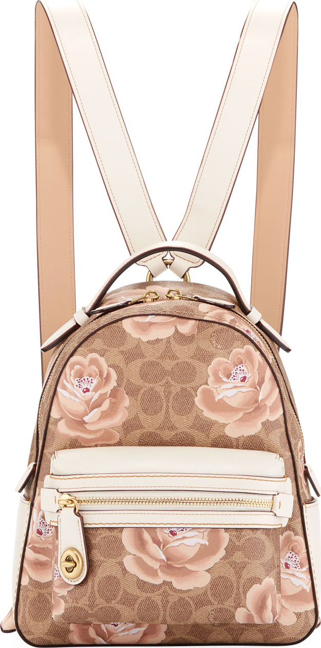 0dd3f4fd9d113 ... australia coach campus 23 coated canvas signature rose backpack 3e796  b9c86 ...