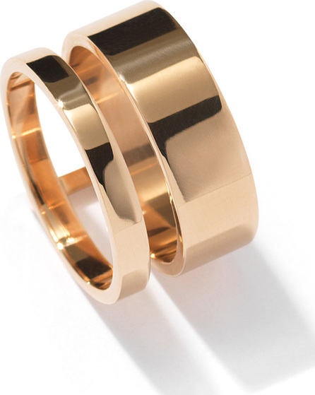 REPOSSI Berbère Two-Row Band Ring in 18K Gold
