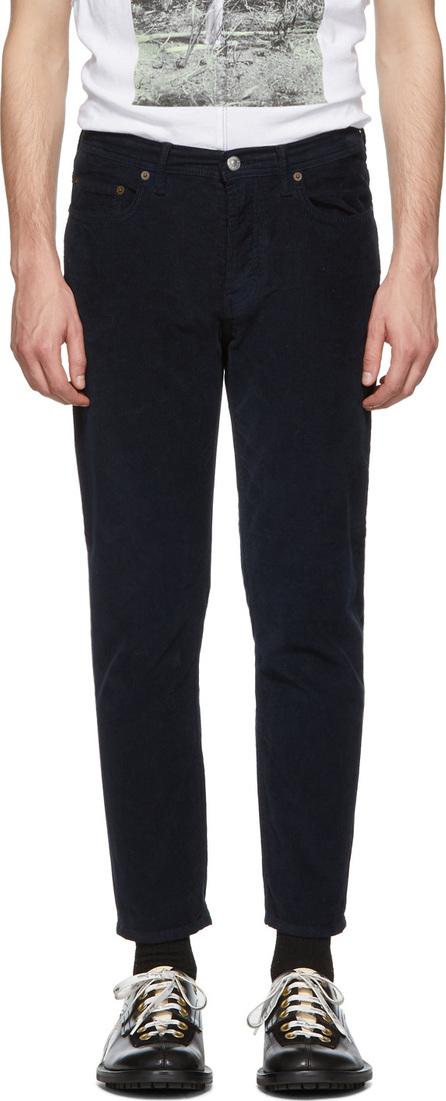 Acne Studios Blå Konst Navy Blå Konst Corduroy River Trousers