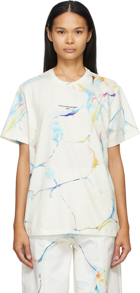 Stella McCartney White Marbling T-Shirt