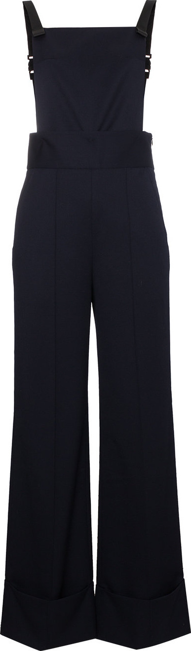 Shushu/Tong Wool jumpsuit with detachable trousers
