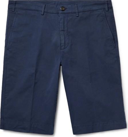 Canali Cotton-Blend Twill Shorts