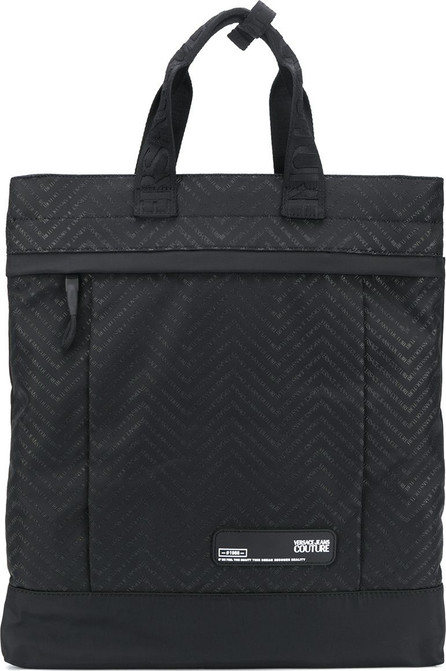 Versace Jeans Couture Embossed logo rectangular backpack