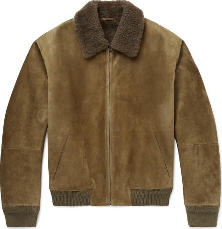 Berluti Shearling Bomber Jacket