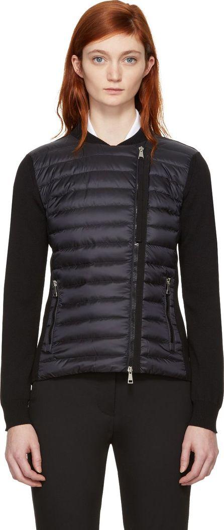 Moncler Black Quilted Panel Jacket