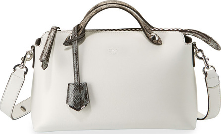 Fendi By the Way Small Leather & Snakeskin Satchel Bag