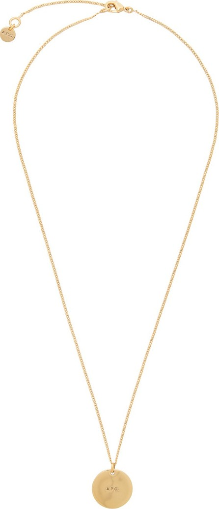 A.P.C. Gold Eloi Necklace