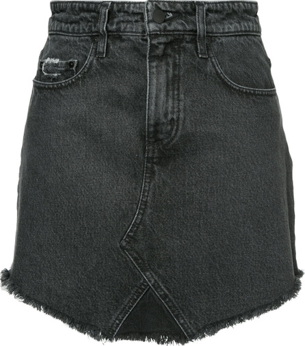 Nobody Denim The Edge Skirt Contrast