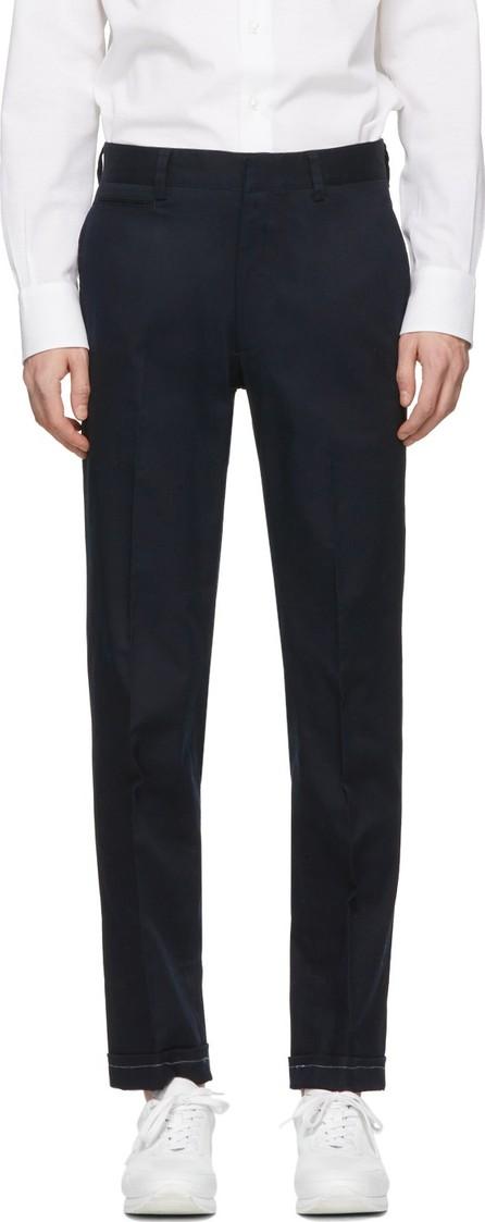 Brioni Blue Chino Trousers