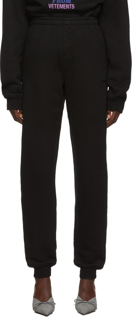 Vetements Black New Classic Lounge Pants