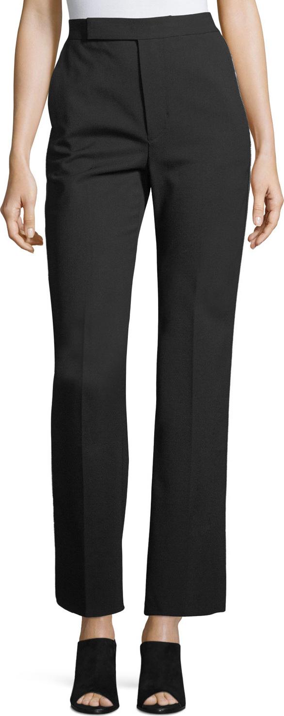 Helmut Lang - Wide-Leg Wool Suiting Pants