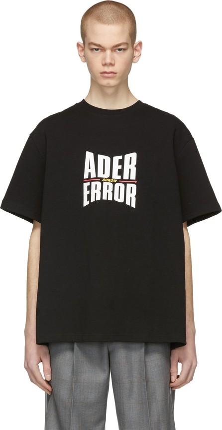 ADER error Black Form Logo T-Shirt