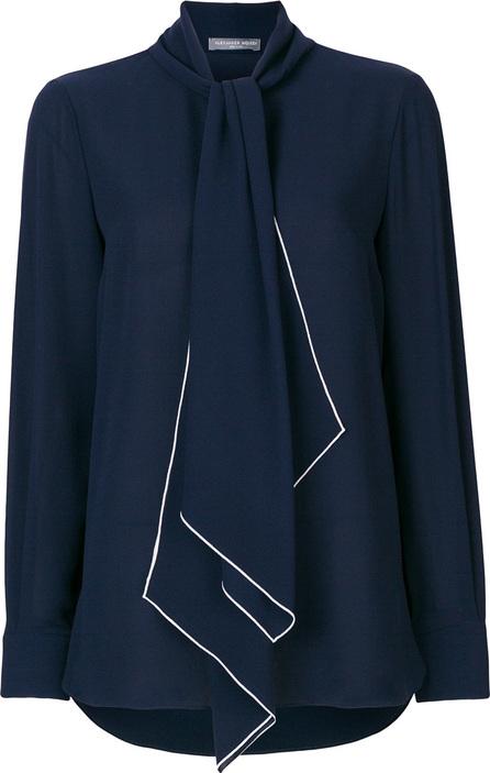 Alexander McQueen Tie-neck blouse
