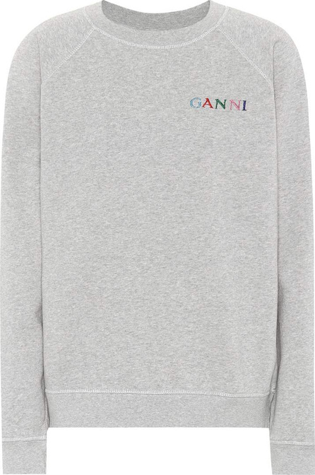 Ganni Lott Isoli cotton sweatshirt
