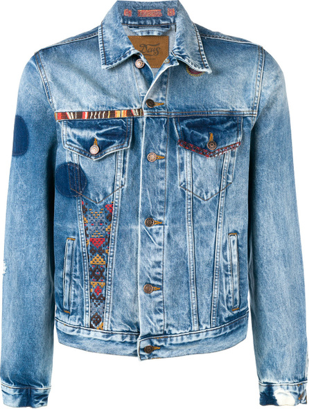 Deus Ex Machina Embroidered denim jacket